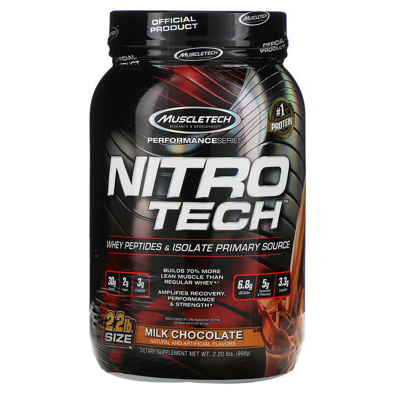 Muscletech performance seriesnaturally flavored nitro
